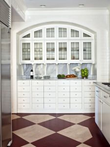 Graphic Kitchen Hutch