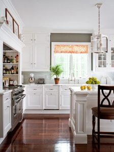 Mostly White Kitchen