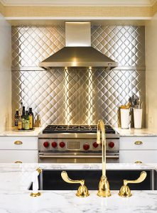 White and Stainless-Steel Kitchen