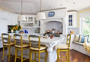 Country French White Kitchen