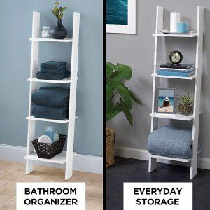 Bathroom storage ideas ladder style 2