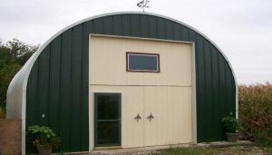 Quonset shed