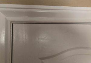 Misalignment of doors and windows