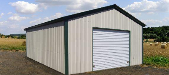 Right Sheet Metal Building