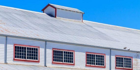 Steel Barn In Utah