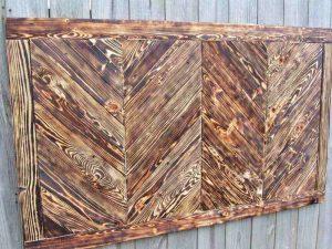 Chevron Boards Scrap Wood Projects