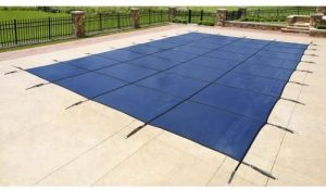 Rectangular In Ground Pool Safety Cover