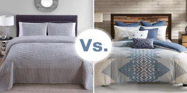 blankets vs comforter