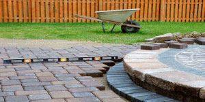 budget friendly patio pavers
