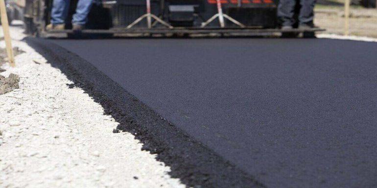 top asphalt driveway
