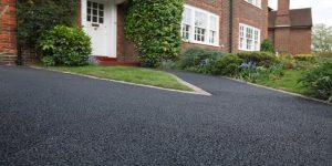 y shaped top asphalt driveways